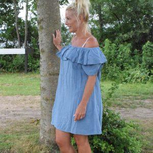 ibiza dress blue