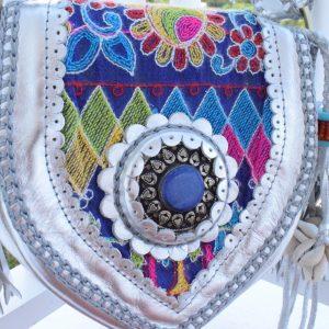 world family ibiza caramelo bag silver