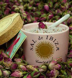 sal de ibiza fleur de sal pink ribbon keramische pot