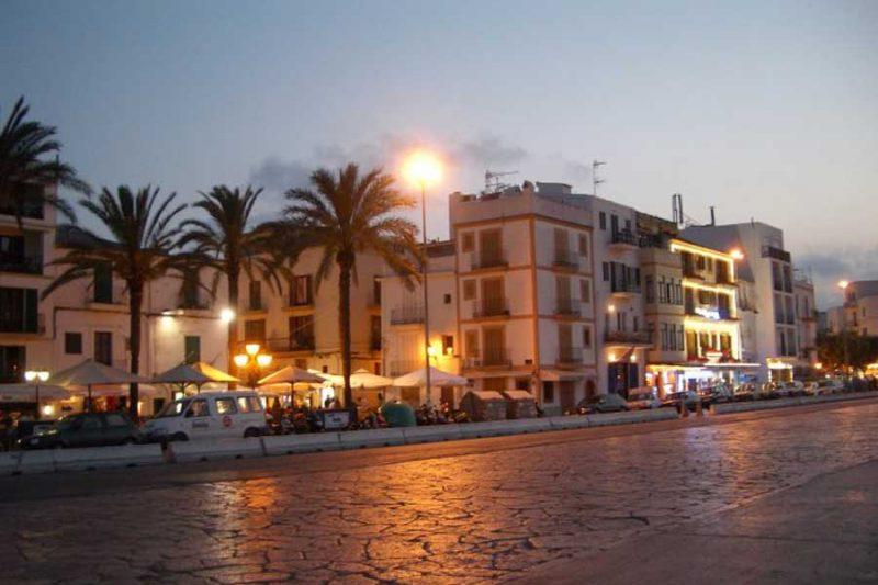 bohemia ibiza tip ibiza stad eivissa old town ibiza marina botafach