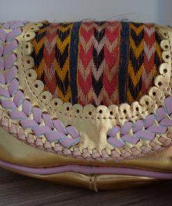 world family ibiza popy bag gold pink-006