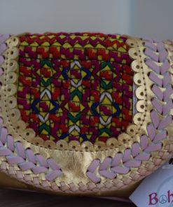 world family ibiza popy bag gold pink-004