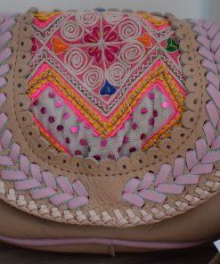 world family ibiza popy wallet beige/pink-005
