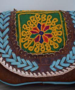 world family ibiza popy bag brown kroko-004