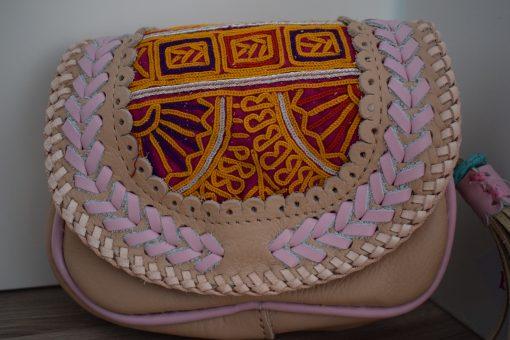 world family ibiza popy wallet beige pink-002